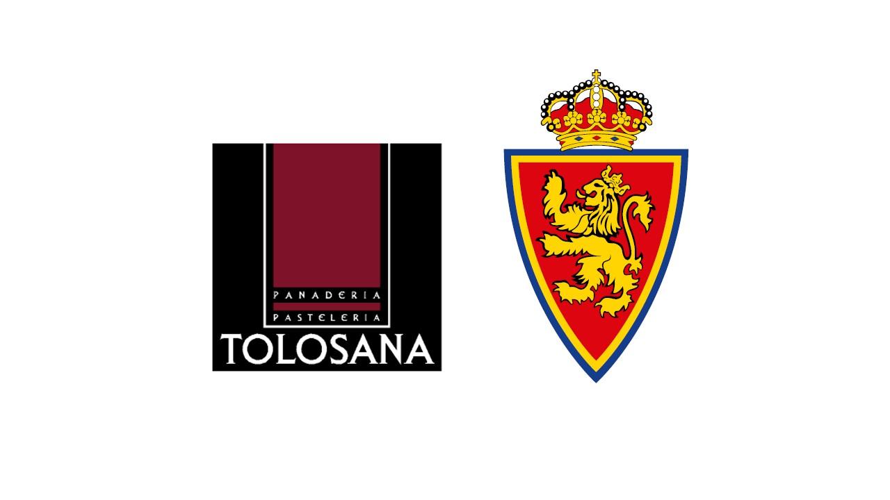 ánimo Zaragoza. Estamos contigo.Acuerdo colaboración Real Zaragoza y Pastelería Tolosana